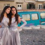 Le sorelle Angela e Marianna Fontana, protagoniste di Indivisibili di Edoardo De Angelis (Italia, 2016)
