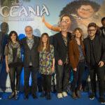 Registi e doppiatori italiani tutti insieme appassionatamente all'incontro di presentazione di Oceania (USA, 2016)
