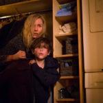 Naomi Watts e Jacob Tremblay in un momento topico di Shut In di Farren Blackburn (Canada, Francia 2016)