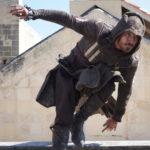 Ancora Michael Fassbender in azione durante Assassin's Creed di Justin Kurzel (USA, UK, Francia, Hong Kong 2016)