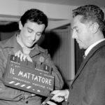 Vittorio Gassman e Dino Risi sul set de Il mattatore (1960)