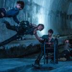 Momenti di vertigine per i personaggi di Resident Evil 6 - The Final Chapter di Paul W.S. Anderson (Germania, Francia, Canada, Australia 2016)