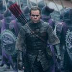 Ancora la versione bellica di Matt Damon in The Great Wall di Zhang Yimou (USA, Cina 2016)