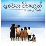 La locandina di Burning Birds di Sanjeewa Pushpakumara (Sri Lanka, Francia 2016)