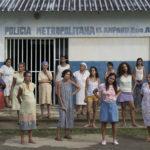 Un'altra significativa immagine tratta da El Amparo di Rober Calzadilla (Venezuela, Colombia 2016)