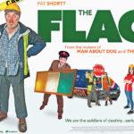 Un manifesto promozionale di The Flag di Declan Recks (Irlanda, 2016)