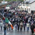 Manifestazione in Irlanda del Nord
