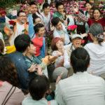 Musica e fan in un'immagine tratta da 52Hz, I Love You di Wei Te-sheng (Taiwan, 2017)