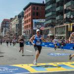 Un momento della maratona in Boston - Caccia all'uomo di Peter Berg (Patriots Day, USA 2016)