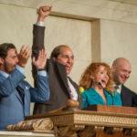 Matthew McConaughey, a festeggiare l'ingresso in borsa in Gold - La grande truffa di Stephen Gaghan (USA, 2016)