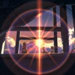 Momenti di magia in Oltre le nuvole. Il luogo promessoci di Makoto Shinkai (Giappone, 2004)