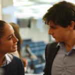 Matilde Gioli e Andrea Arcangeli in un momento di The Startup di Alessandro D'Alatri (Italia, 2017)