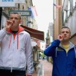 Chris Walley e Alex Murphy in un momento di The Young Offenders di Peter Foott (Irlanda, 2016)