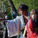 Momenti di violenta tensione durante Blade of the Immortal di Takashi Miike (Mugen no jûnin, Giappone, UK 2017)
