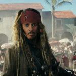 Johnny Depp, ancora protagonista di Pirati dei Caraibi - La vendetta di Salazar di Joachim Rønning, Espern Sandberg, Pirates of the Caribbean: Dead Men Tell No Tales (USA, 2017)