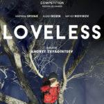 La locandina internazionale di Loveless di Andrey Zvyagintsev (Nelyubov, Russia 2017)