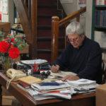 Jean Sorel in studio durante Strange Birds di Elise Girard (Drôles d'oiseaux, Francia 2017)