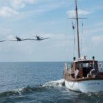 Uno dei tanti momenti topici di Dunkirk di Christopher Nolan (UK, USA, Francia, Olanda 2017)