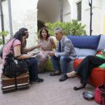 Gianfelice Imparato intervistato dai nostri inviati al Sa.Fi.Ter. 2017 Maria Lucia Tangorra e Francesco Del Grosso.