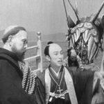 Momenti rituali durante I 26 martiri del Giappone di Tomiyasu Ikeda (Giappone, 1931)