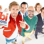 Un manifesto promozionale della commedia Alibi.com di Philippe Lacheau (Francia, 2017)