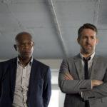 Samuel L. Jackson e Ryan Reynolds, protagonisti di Come ti ammazzo il bodyguard di Patrick Hughes (The Hitman's Bodyguard, USA, Cina, Olanda 2017)