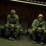 Militari in attesa durante Foxtrot di Samuel Maoz (Israele, Germania, Francia 2017)