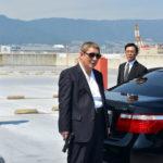 """Il grande """"Beat"""" Takeshi in un momento di Outrage Coda di Takeshi Kitano (Giappone, 2017)"""