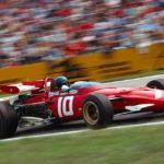 Una delle storiche monoposto nel documentario Ferrari 312B di Andrea Marini (Italia, 2017)