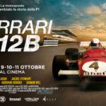 Un manifesto promozionale del documentario Ferrari 312B di Andrea Marini (Italia, 2017)
