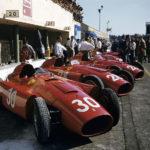"""""""Rosse"""" in parata nel documentario Ferrari : un mito immortale di Daryl Goodrich (Ferrari: Race to Immortality, UK 2017)"""