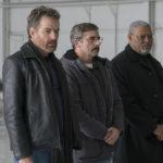 Bryan Cranston, Steve Carell e Laurence Fishburne, magnifici protagonisti di Last Flag Flying di Richard Linklater (USA, 2017)