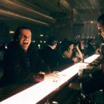 Jack Nicholson alla festa dell'Overlook Hotel in Shining di Stanley Kubrick (The Shining, UK, USA 1980)