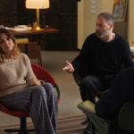 Amra Angiolini e Pietro Sermonti dallo psicoanalista in Terapia di coppia per amanti di Alessio Maria Federici (Italia, 2017)