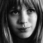 Una giovanissima Marianne Faithfull in Faithfull di Sandrine Bonnaire (Francia, 2017)