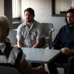 Channing Tatum e Adam Driver in un momento di Logan Lucky di Steven Soderbergh (USA, 2017)