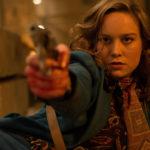 Brie Larson fa fuoco durante Free Fire di Ben Wheatley (UK, Francia 2016)