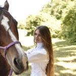 Ancora Gaia Forte con l'amato cavallo in Edhel di Marco Renda (Italia, 2017)