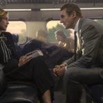 Vera Farmiga e Liam Neeson nelle fasi iniziali del thriller L'uomo sul treno di Jaume Collet-Serra (The Commuter, UK, USA 2018)