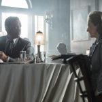 Tom Hanks e Meryl Streep in un momento di The Post di Steven Spielberg (USA, UK 2017)