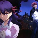 I due protagonisti del film d'animazione Fate/Stay Night: Heaven's Feel 1. Presage Flower di Tomonori Sudô (Giappone, 2017)