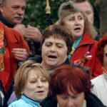 Celebrazioni popolari durante Victory Day di Sergei Loznitsa (Den'Pobedy, Germania 2018)