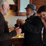 Gianni Amelio sul set de La tenerezza con Renato Carpentieri e Micaela Ramazzotti