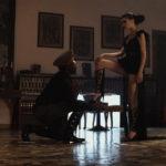 Una conturbante immagine dal corto Il demone dell'acqua di Cristian Tomassini (Italia, 2017)