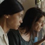 A destra Hiam Abbass, protagonista di Insyriated di Philippe Van Leeuw (Belgio, Francia, Libano 2018)