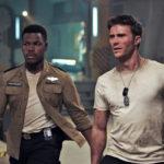 John Boyega e Scott Eastwood in un momento di Pacific Rim 2 - La rivolta di Steven S. De Knight (Pacific Rim Uprising, USA, Cina 2018)