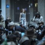 Olivia Cooke in un momento centrale di Ready Player One di Steven Spielberg (USA, 2018)