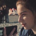 La giovanissima Margherita Morchio in Succede di Francesca Mazzoleni (Italia, 2018)