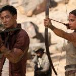 Momenti d'azione per l'eroina durante Tomb Raider di Roar Uthaug (USA, UK 2018)