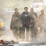 """Una rappresentanza dei """"vendicatori"""" durante Avengers: Infinity War di Anthony Russo e Joe Russo (USA, 2018)"""
